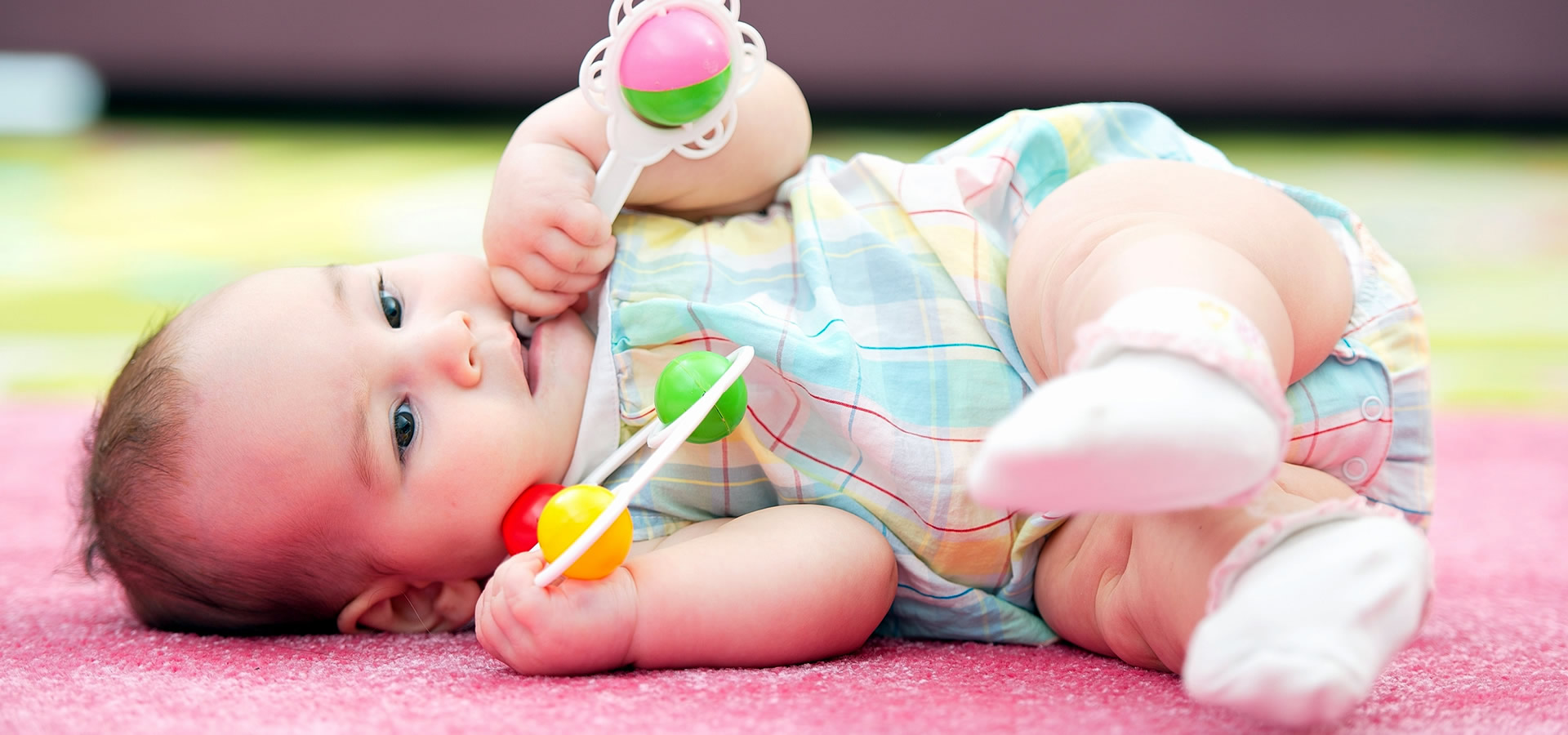 Spot Plus can keep your carpet clean so your young ones stay healthy! Even babies love carpet that's White Sock Clean.