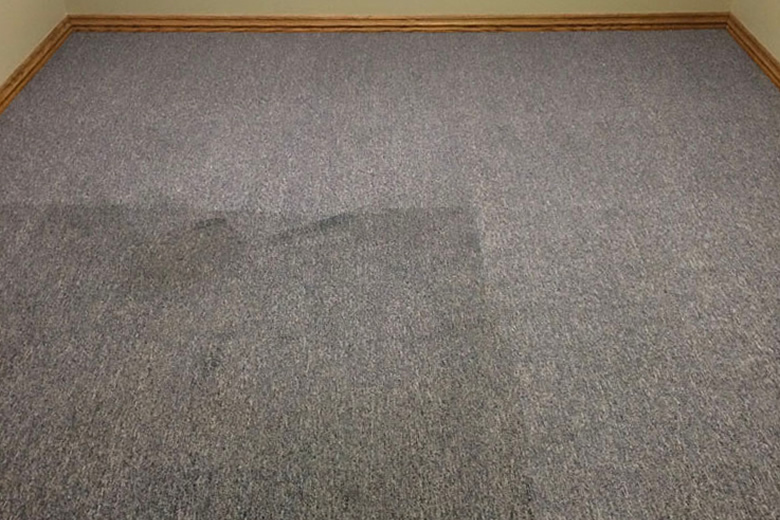 Spot Plus Carpet Care - Carpet cleaning 'before and after' photo