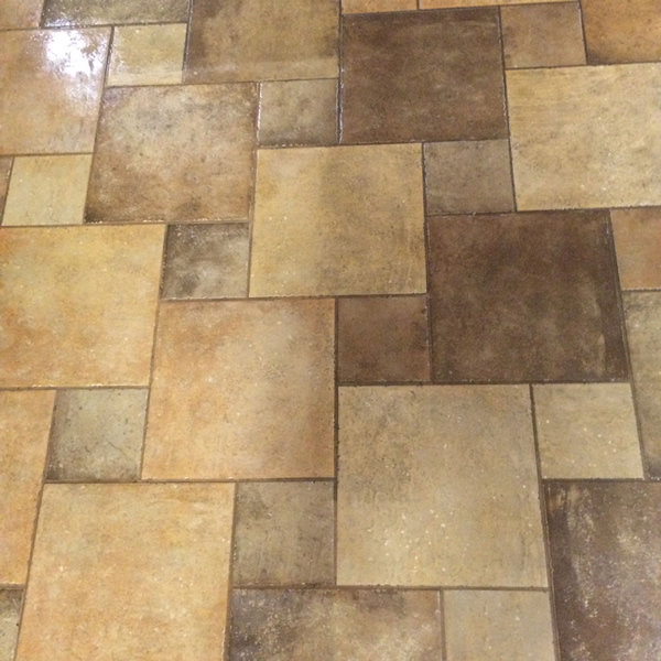 Spot Plus Carpet Care - Tile and grout cleaning 'before' photo